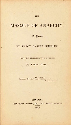 1832 first edition, printed by Bradbury and Evans, Edward Moxon, London.