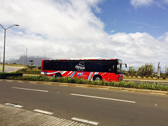 Yutong ZK6118HGA operated by RHT Bus Services Ltd in Mauritius