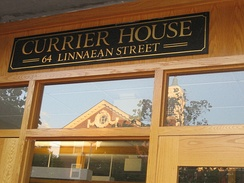 Currier House entrance