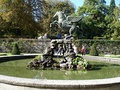 "The famous fountain in Mirabell Gardens (seen in the ""Do-Re-Mi"" song from The Sound of Music)"