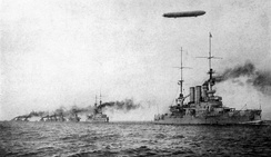 German High Seas Fleet during World War I