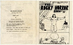 Original programme of the musical from the Theatre Upstairs