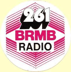 The first BRMB logo, used throughout the 1980s.