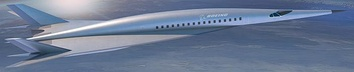 Boeing hypersonic transport concept
