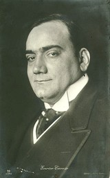 History's most successful tenors, Enrico Caruso (above) and Luciano Pavarotti (below)