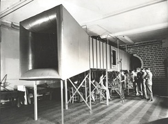 The ground-breaking wind tunnel built in the first ever aeronautical department in the UK