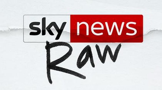 Sky News Raw logo as used in January and February 2019