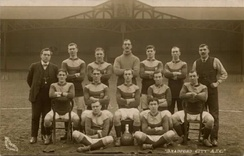 The Bradford City team which won the 1911 FA Cup