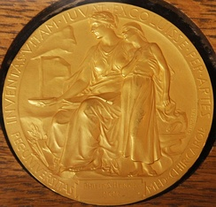 The reverse side of the Nobel Prize for Physiology or Medicine