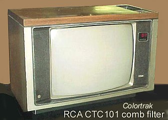 RCA Colortrak TV set, using the CTC101 chassis, c. 1980