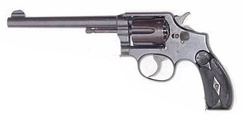 First model M&P revolver designed in 1899 for the .38 Special cartridge. This particular revolver left the factory in 1900.