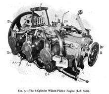 1904 Wilson-Pilcher engine