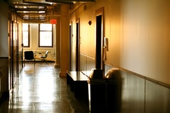 Post-production center on the 11th floor of the Tisch building at 721 Broadway in New York