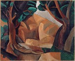 Pablo Picasso, 1908, Paysage aux deux figures (Landscape with Two Figures)
