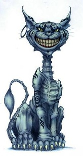 The Cheshire Cat as depicted in American McGee's Alice