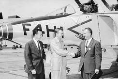 Key figures in the F-4 development: David Lewis, Robert Little, and Herman Barkey