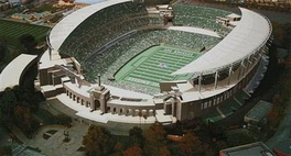 Model of a proposed renovation to the Coliseum.