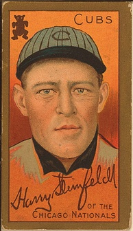 Harry Steinfeldt's 1911 baseball card