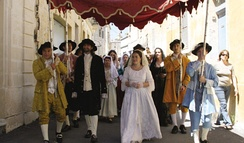 Re-enactment of a traditional Maltese 18th century wedding