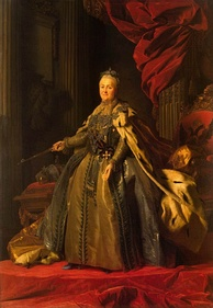 Catherine the Great, Empress of Russia.
