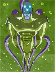 Brainiac merged with Lex Luthor as seen in Justice League Unlimited.