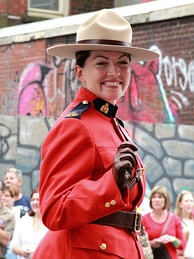 RCMP officer, 2011