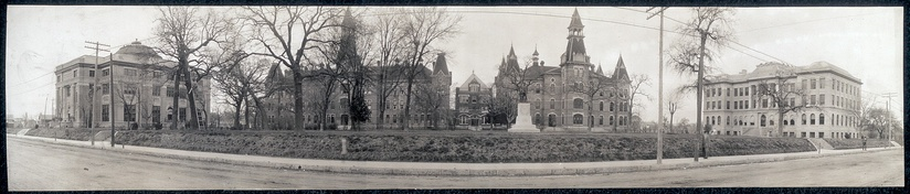 Burleson Quadrangle in the early 1900s