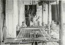 Weaving on Handlooms, c. 1913
