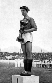 Loro Boriçi captained the team in winning the 1946 Balkan Cup.
