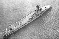 HMS Hermes aircraft carrier