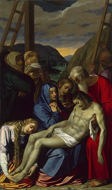 Scipione Pulzone's Lamentation, a typical Counter-Reformation work.