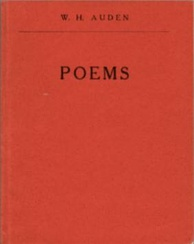 Cover of the privately printed Poems (1928)