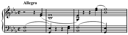 Polyvalency suggested in Beethoven (Marquis 1964,[page needed]). Play (help·info)
