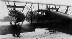 Civil use Farman F.50P, with a cabin for up to five passengers