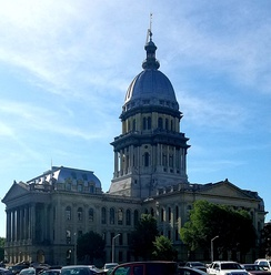 The Illinois State Capitol in Springfield