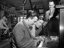Carmichael and Harold Russell play a duet in The Best Years of Our Lives as Fredric March watches