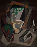 Still Life with Utensils, 1917, 71 × 54 cm. Museo Dolores Olmedo