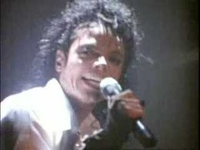 "Jackson in the music video for ""Dirty Diana""."