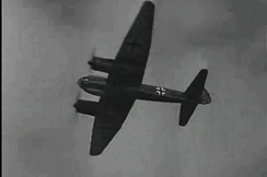 Archival image of a Junkers Ju 88 as shown in a screenshot from Malta Story