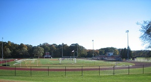 Holliston High School athletic field