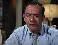 Speed (Larry Haines) in a scene