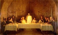 The Last Supper, by Bouveret, 19th century