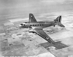 Douglas C-39 transport, a military modified version of the DC-2