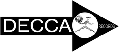 1960s American Decca logo with the harlequin holding a globe, which was American Decca's trademark. This was similar to the first MCA Records logo[32] introduced in the United Kingdom in 1967.