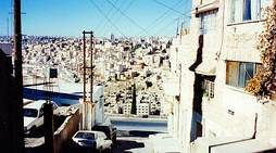 A neighbourhood in Amman, Jordan.