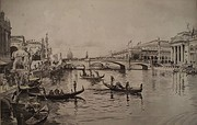 """Canal of Venice"" during Chicago World's Fair 1893"