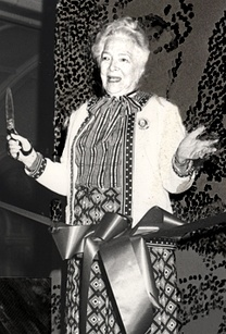 Riverside Shakespeare Company Shakespeare Center Dedication with Helen Hayes, 1982.