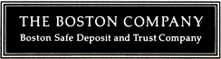 The Boston Company logo, ca 1993, acquired by Mellon