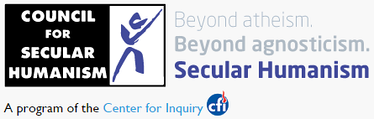Logo of the Council for Secular Humanism (CSH).