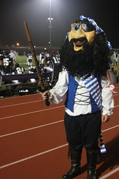 Pico the Corsair at Homecoming 2010